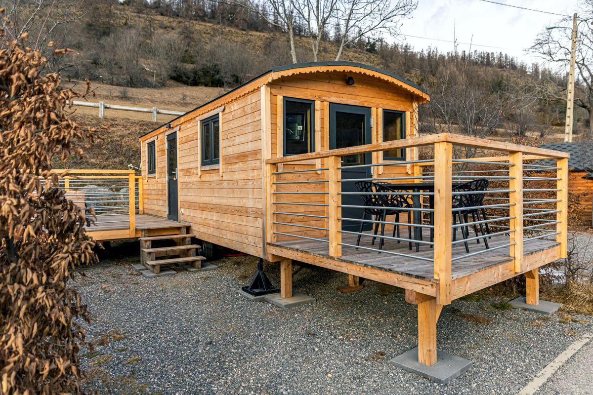 Case di legno su ruote per evitare costi edilizi