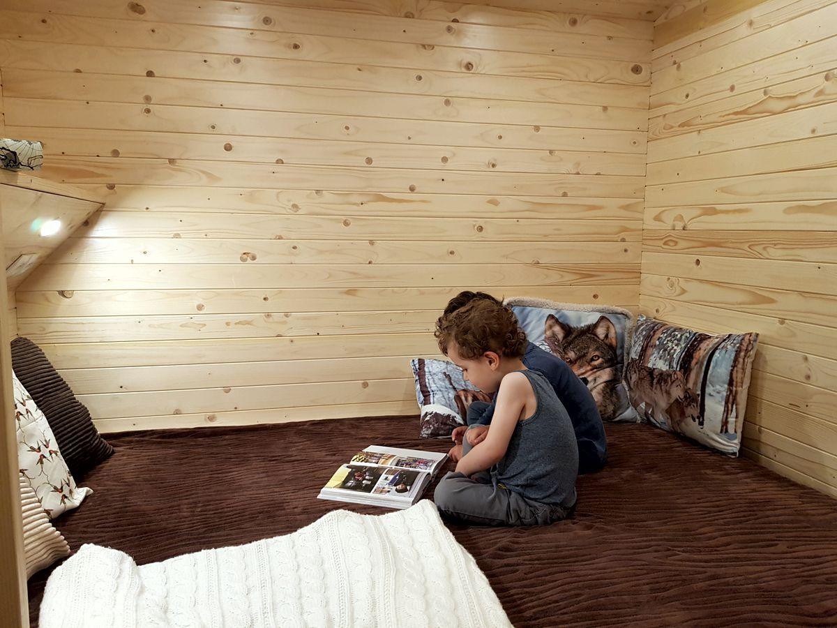 Case legno per la sicurezza e salute
