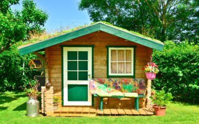Casette di legno abitabiliper spazi privati